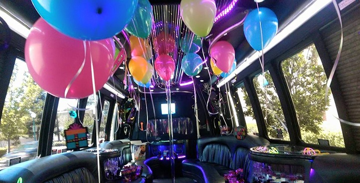 birthday party bus