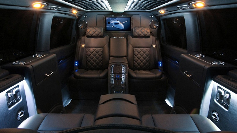 Mercedes V Class Luxury Interior